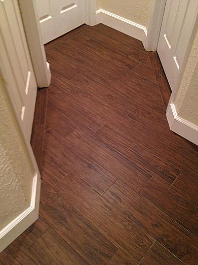 Wood Look Plank Tile Installation Tampa Florida Ceramictec Updates