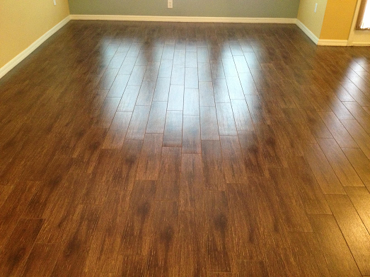 6 215 24 Walnut Plank Tile Installation Wesley Chapel Florida