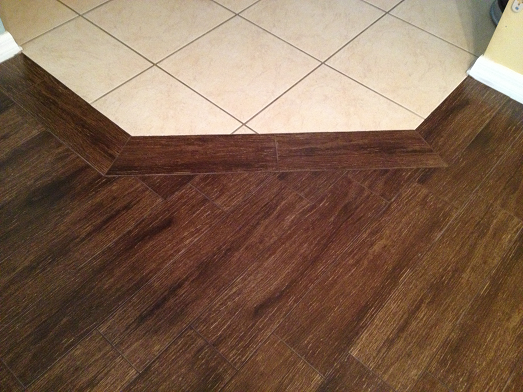 6 215 24 Walnut Plank Tile Installation Wesley Chapel Florida