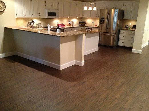 Wood Look Plank Tile Installation Tampa Florida