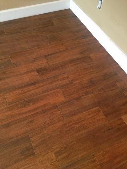 Odessa Florida Master Bedroom 6 215 24 Hickory Plank Tile