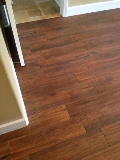 Odessa Florida Master Bedroom 6 215 24 Hickory Plank Tile