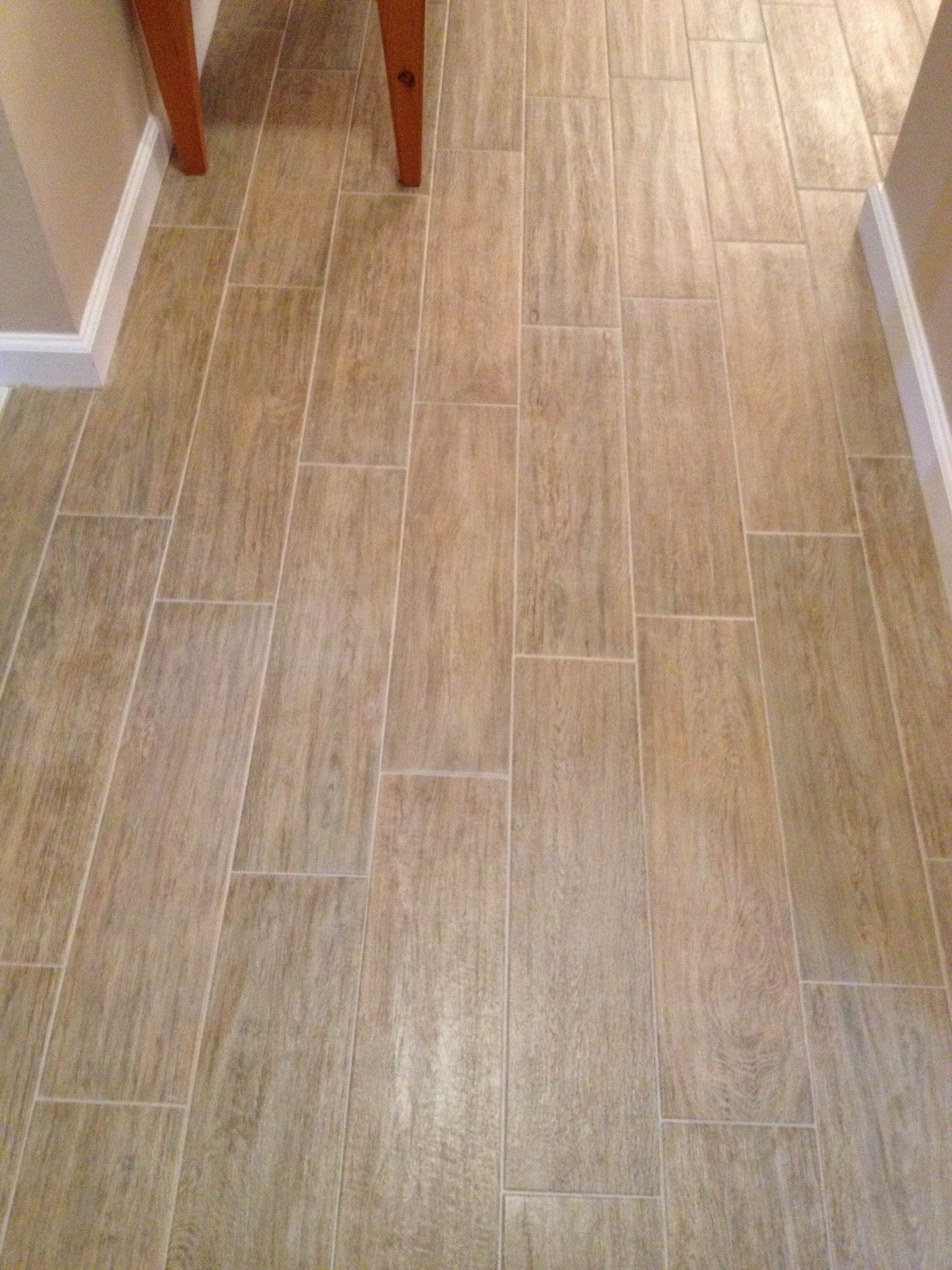 Hampton Blonde Oak Plank Tile Installed In New Port