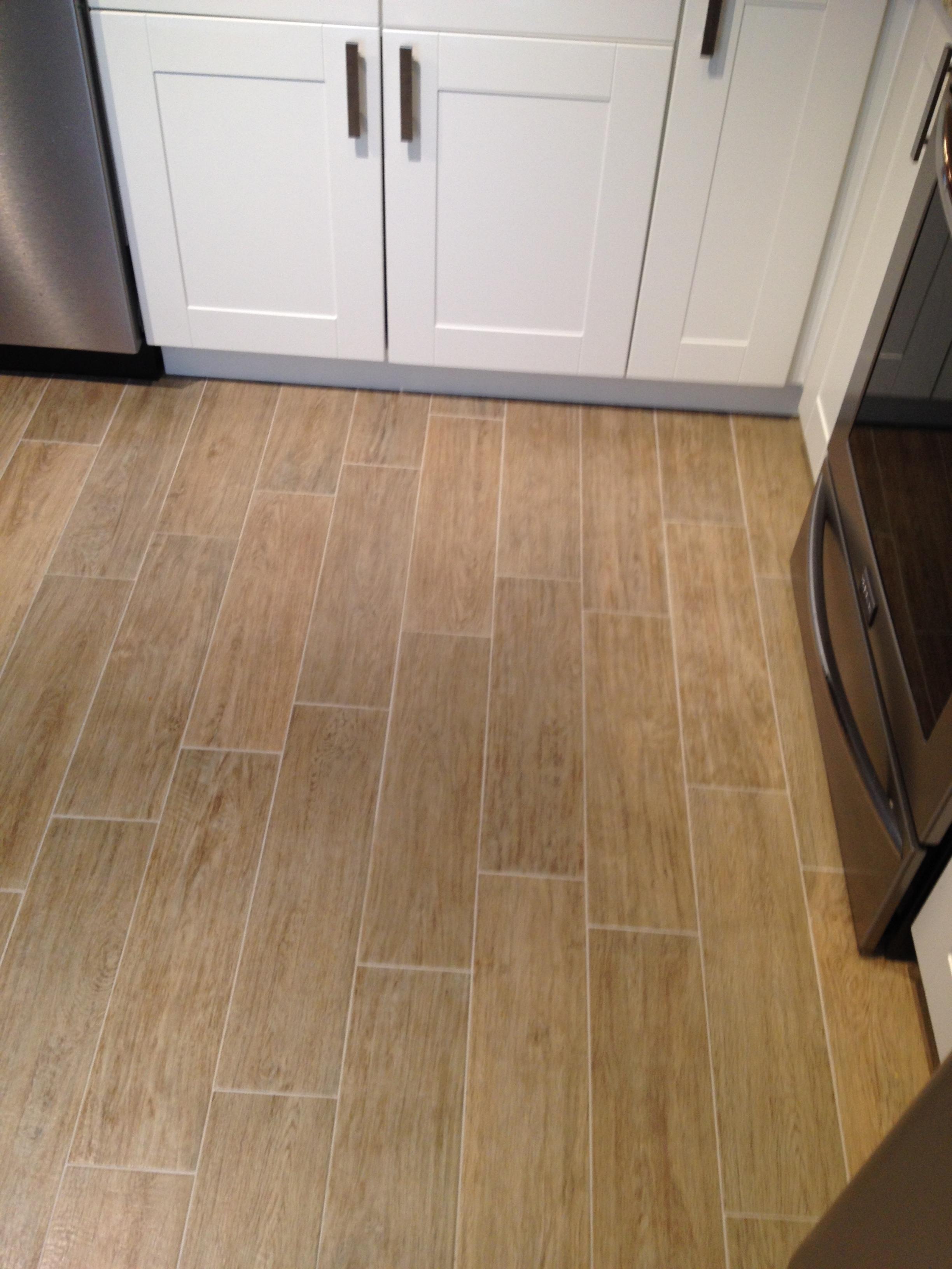 Hampton Blonde Oak Plank Tile Installed In New Port