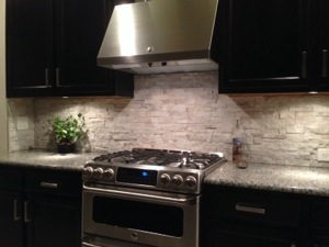 Stacked Stone Quartz Backsplash Apollo Beach Florida