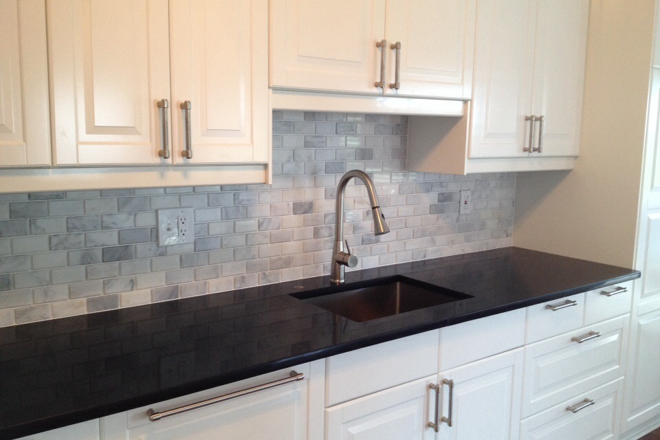 subway tile backsplash in sun city center florida tile backsplash