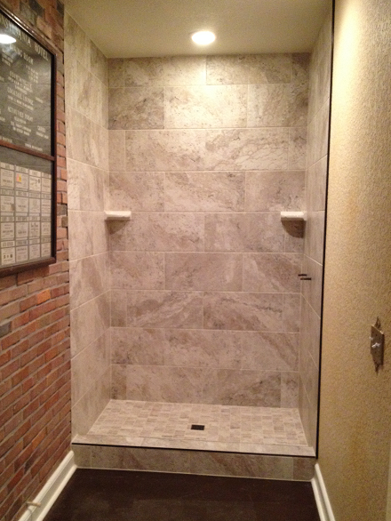Lutz Florida 1224 Shower Tile Installation Ceramictec
