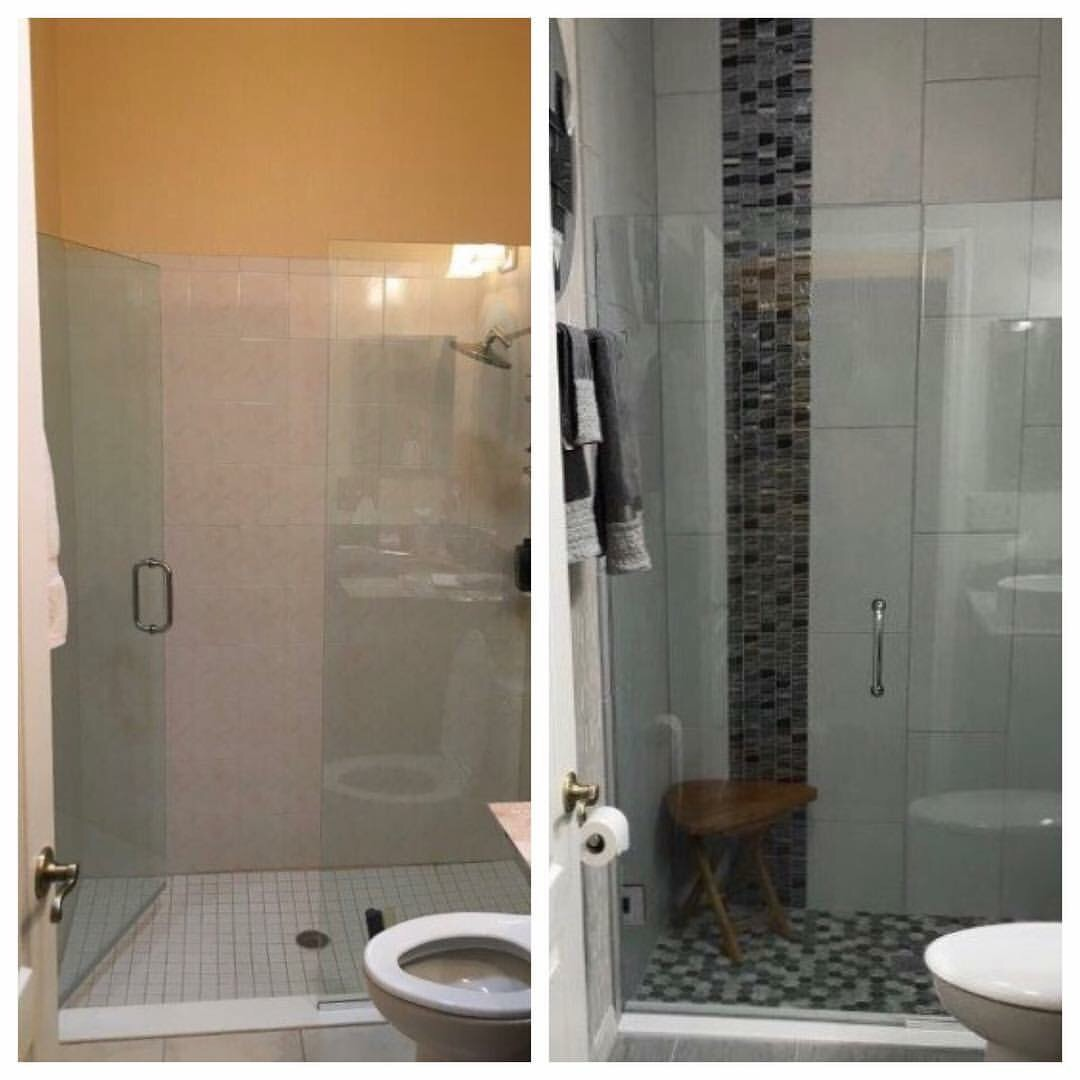 Bathroom Tile Contractor: Before & After Of The Sun City Center, Florida Bathroom