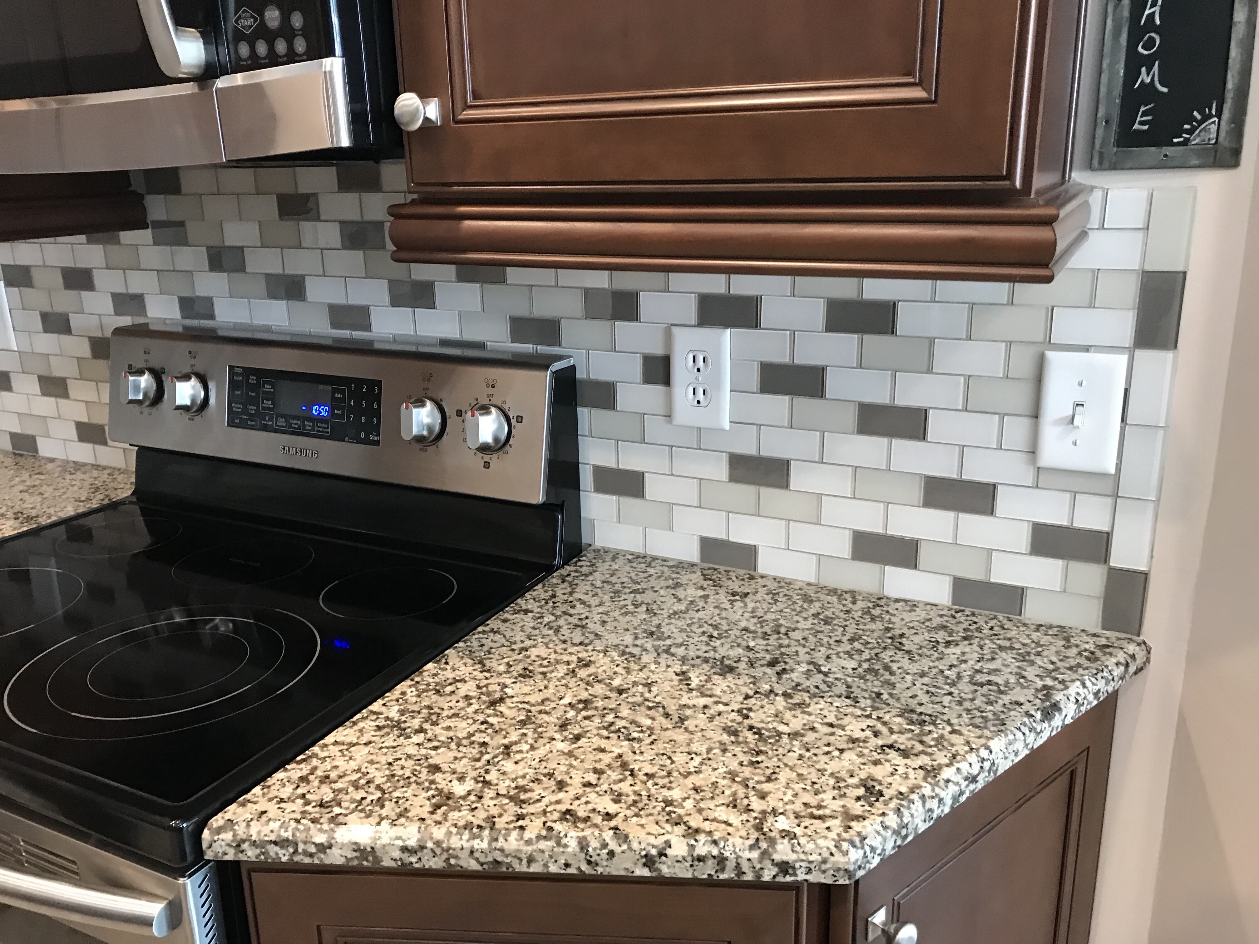 - Wesley Chapel Mini-Brick Glass Tile Backsplash Ceramictec Updates